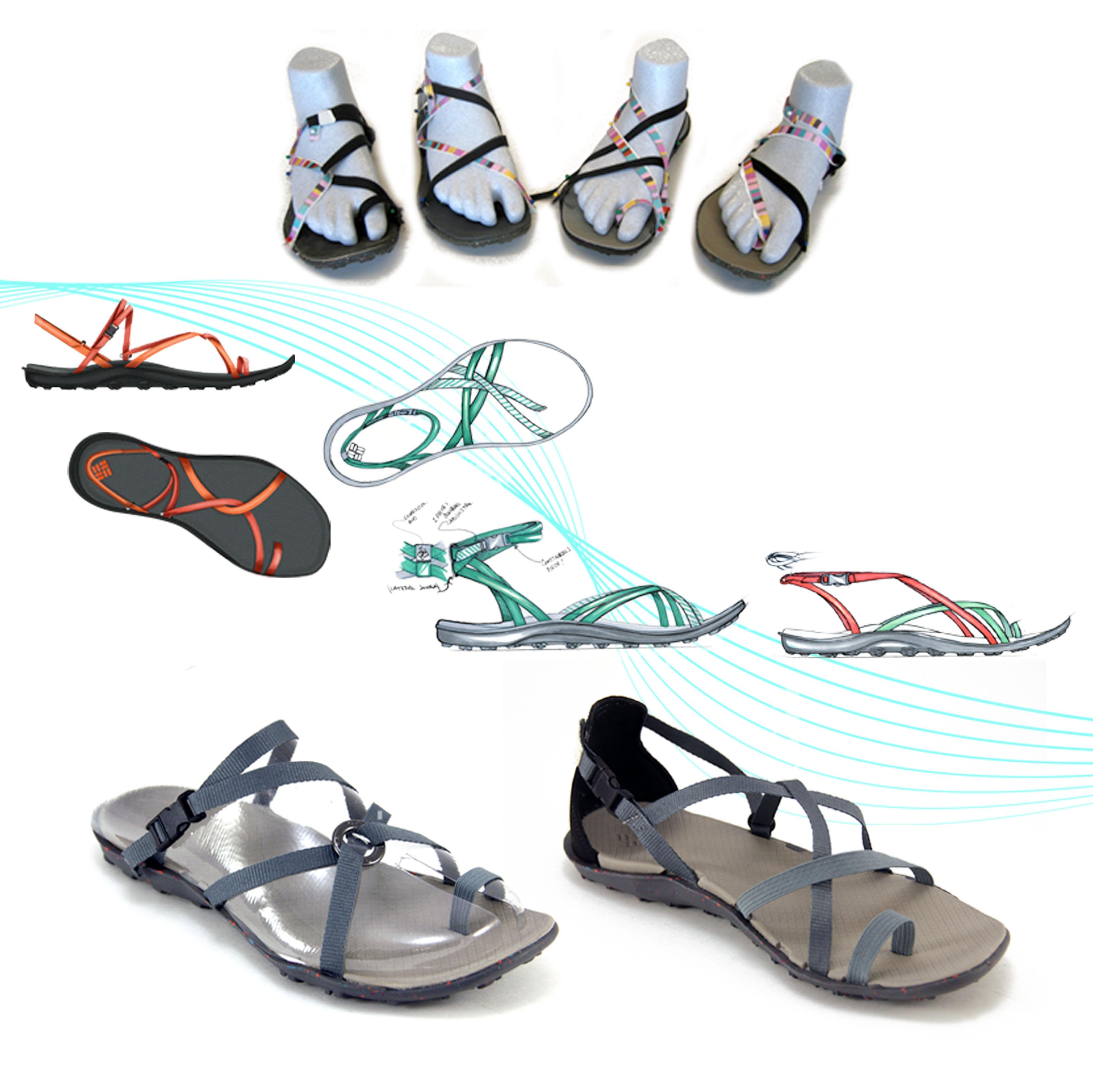 Columbia Sportswear F10 S14 April Mcnamara Sandal Skyway S13 Rivertech Sandals